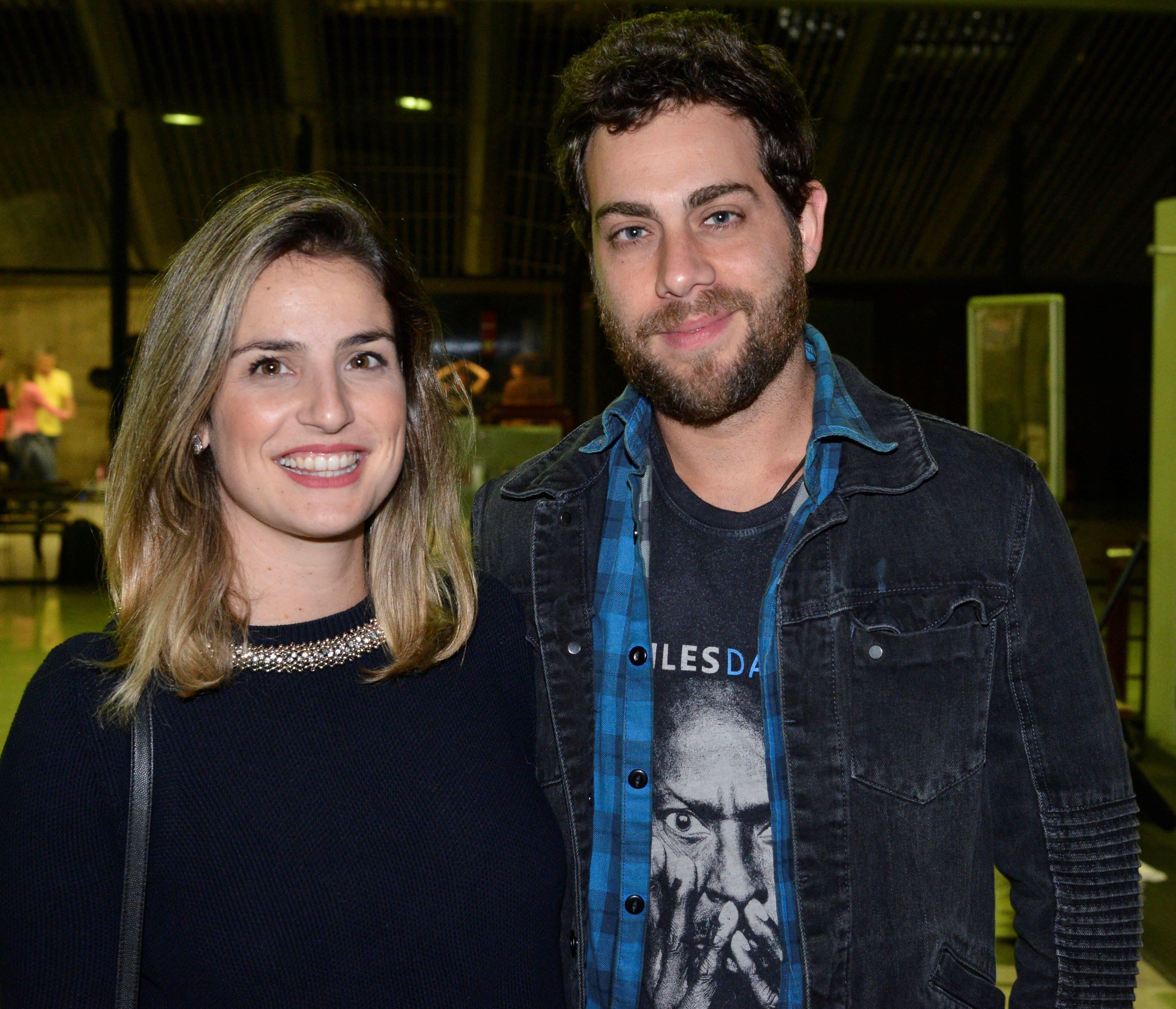 Marina e Felipe Cirelli  /Fotos: João Sal e Caio Galucci