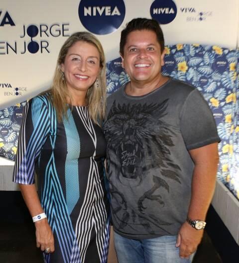 Marcia Ramos e Marcio Mothe