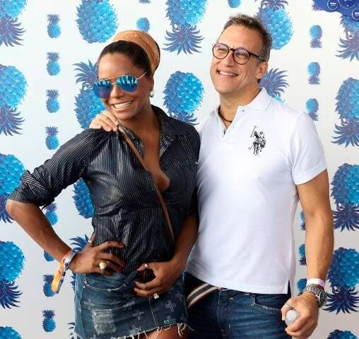 Adriana Bombom e Adrien Cunha