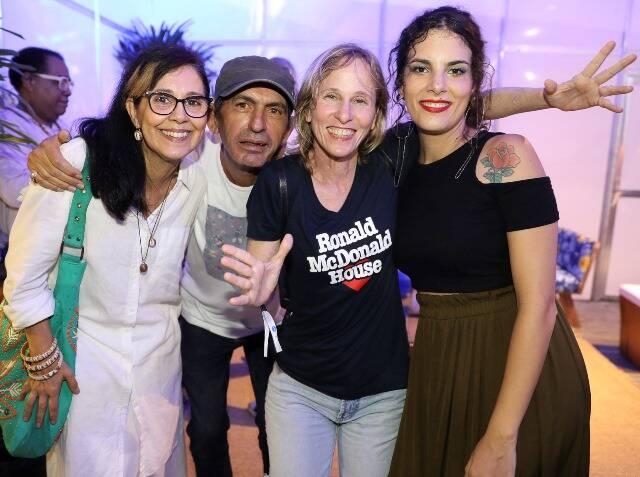 Claudia Kopke, Claudio Assis, Deborah Colker e Céu