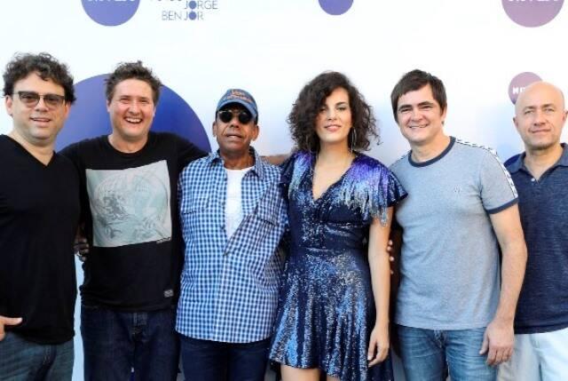 Jorge Ben Jor, a cantora Céu e o grupo Skank