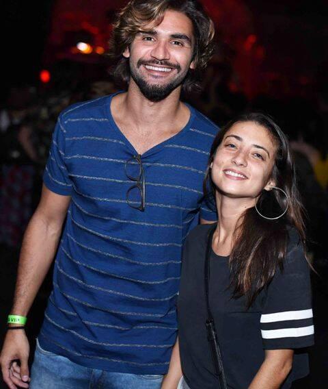 André Rosa e Júlia Oristanio