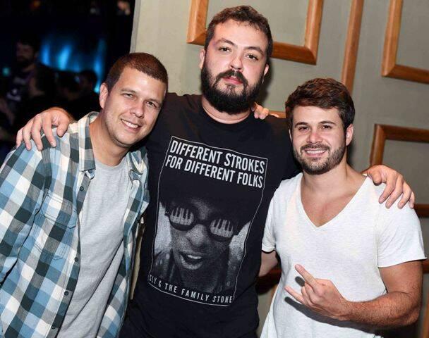 Felipe Bello, Rapha M e Kaká Quintanilha