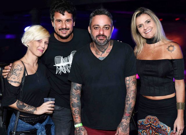 Nicole Nandes, Carlos Cruz, Daniel Teruz e Paula Souto