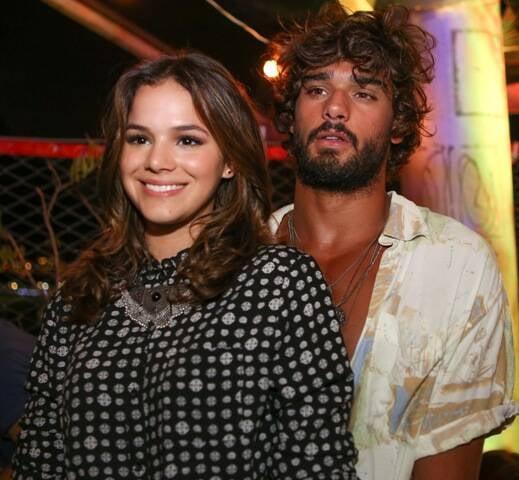 Bruna Marquezine o novo namorado, Marlon Teixeira