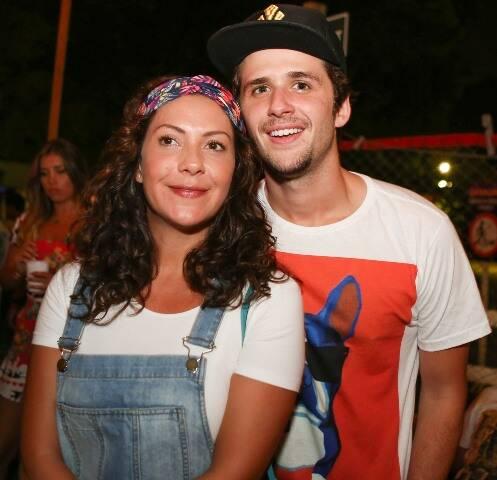 Fabiola Nascimento e Gil Coelho