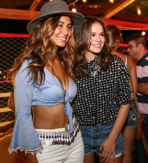 Stéphannie Oliveira e Bruna Marquezine
