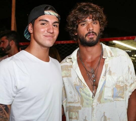 Gabriel Medina e Marlon Teixeira