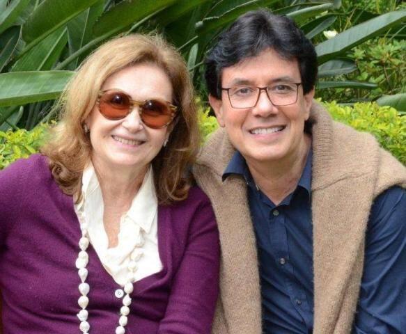 Alice Médici e Arnaldo Basto