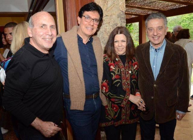 Cesário Buffara, Arnaldo Basto, Vanda Klabin e José Pio Borges