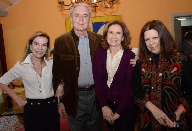 Henriqueta Gomes, Luiz Celso Monteiro de Andrade, Alice Médici e Vanda Klabin