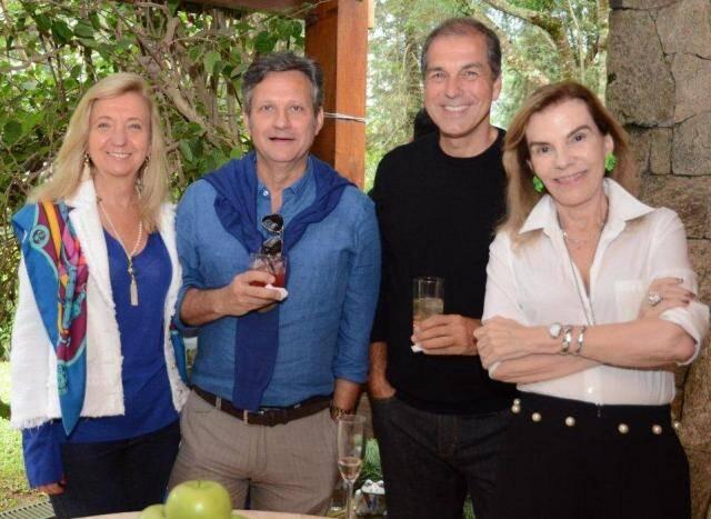 Inês Basto, Paulo Reis, Luiz Carlos Nabuco e Henriqueta Gomes