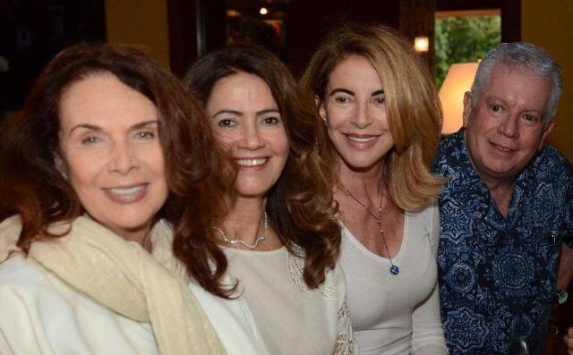 Jane Rose Klarnet, Ângela Rocco, Aparecida Marinho e Chicô Gouvêa