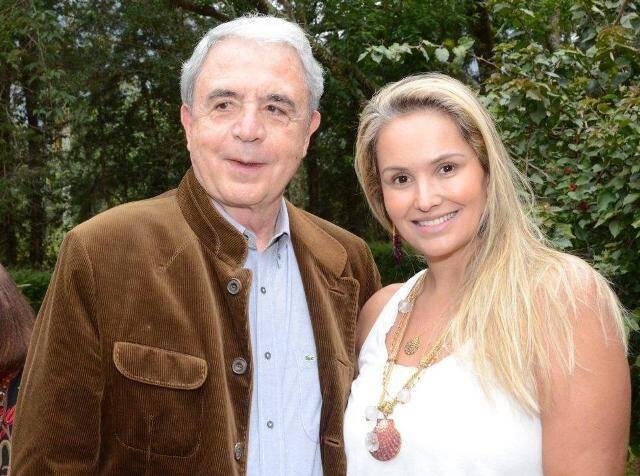 Luiz Celso Monteiro de Andrade e Luciana Pittigliani