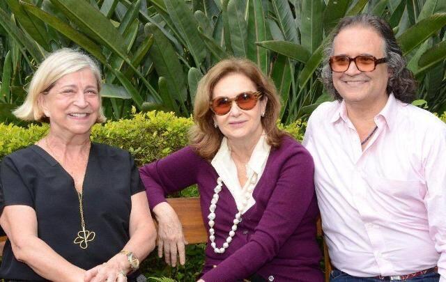 Patricia Lins, Alice Médici e Zé Ronaldo