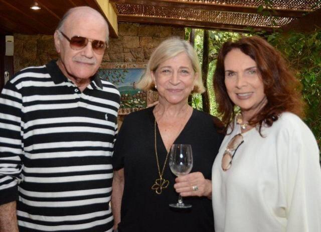 Inácio Klarnet, Patricia Lins e Silva e Jane Rose Klarnet