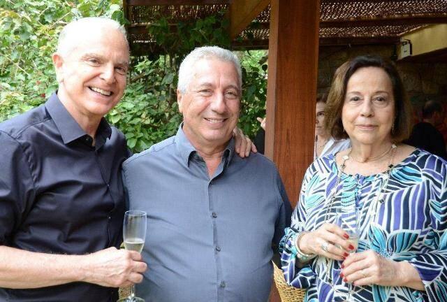 Ricardo Stambowsky, Paulo Rocco e Regina Salles Rodrigues