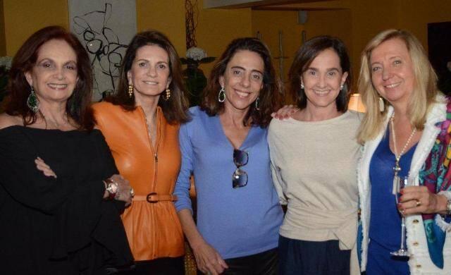 Sueli Stambowsky, Paula Nabuco, Mônica Marinho, Bebel Niemeyer e Inês Basto