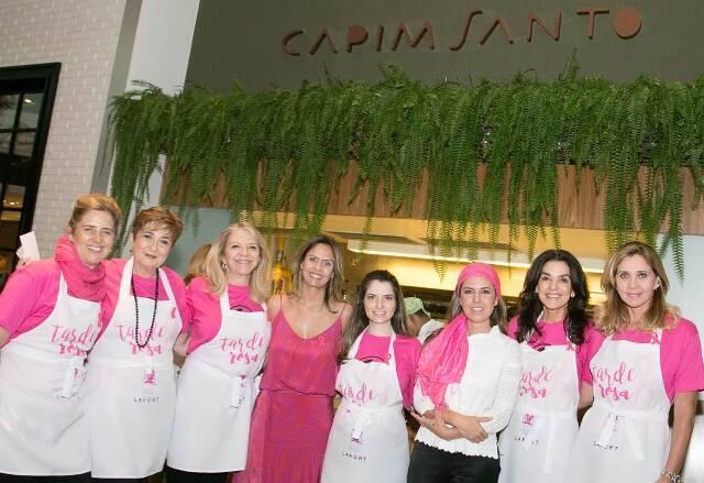 Kika Gama Lôbo, Betty Dabkiewicz, Cecília Garroti, Danielle Oscar, Morena Leite, Beth Accurso e Katia Spolavori