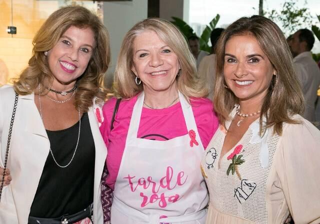 Katia Cohen, Cecília Garroti e Ana Luiza Ginja