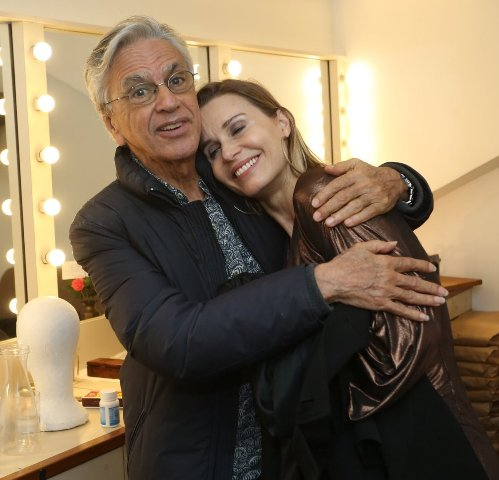 Caetano Veloso e Paula Burlamaqui