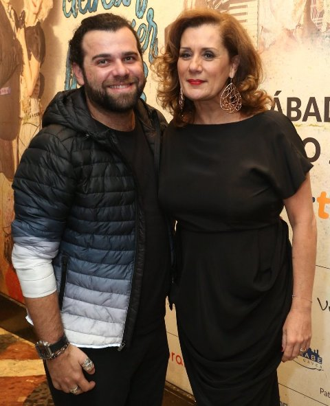 Frederico Reder e Claudia Wildberger