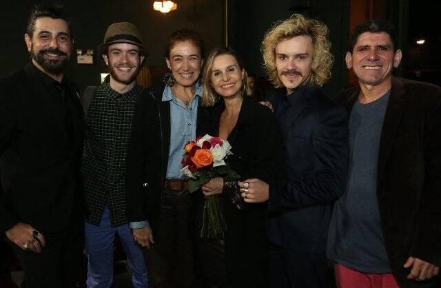 Jorge Farjalla, Vitor Thiré, Lilia Cabral