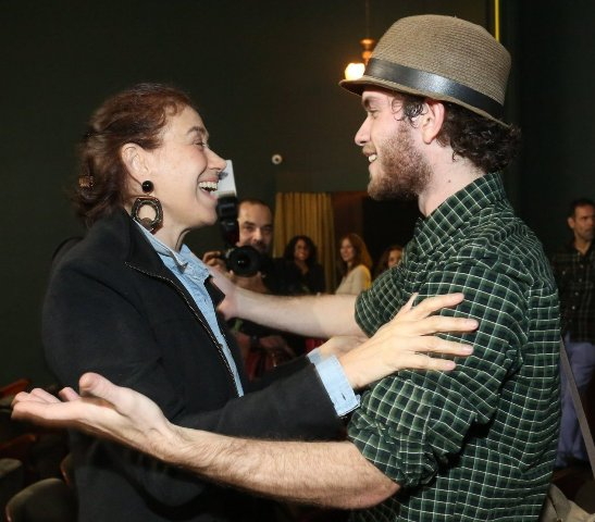 Lilia Cabral e Vitor Thiré
