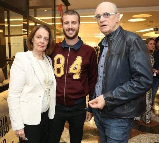 Norma Thiré, Miguel Thiré e Marcos Caruso