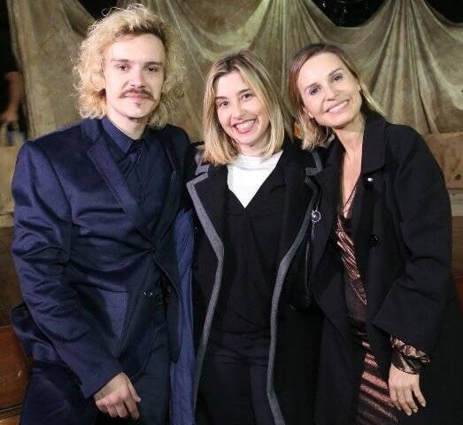 Yuri Ribeiro, Mylena Ciribelli e Paula Burlamaqui