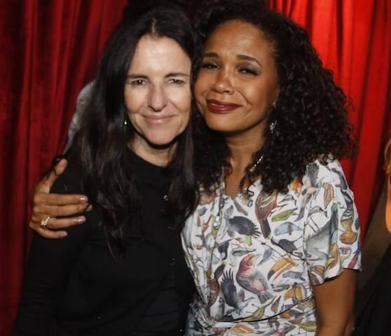 Monique Gandeberg e Teresa Cristina