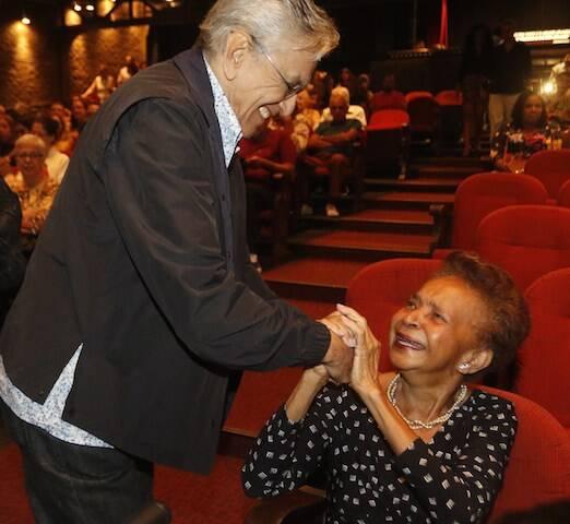 Caetano Veloso e Dona Hilda