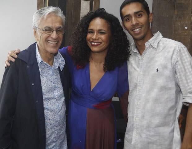 Caetano Veloso, Teresa Cristina e Mosquito