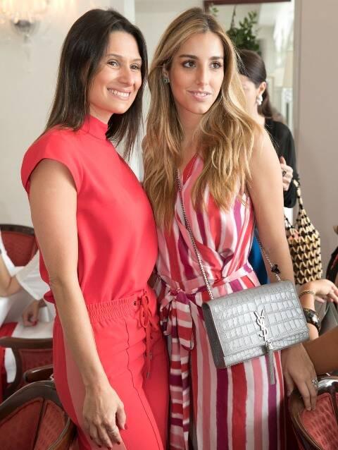 Camila Carvalho e Fernanda de Biase