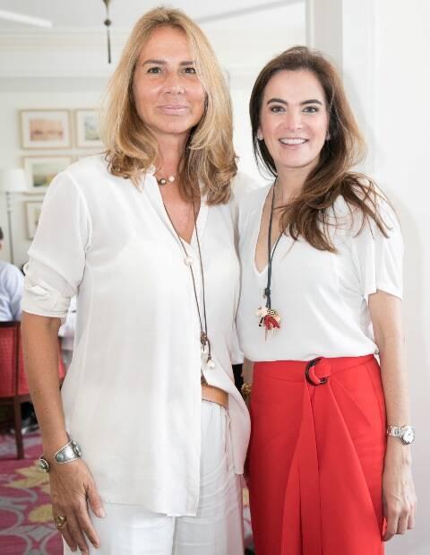 Elisa Marcolini e Patrícia Corrêa