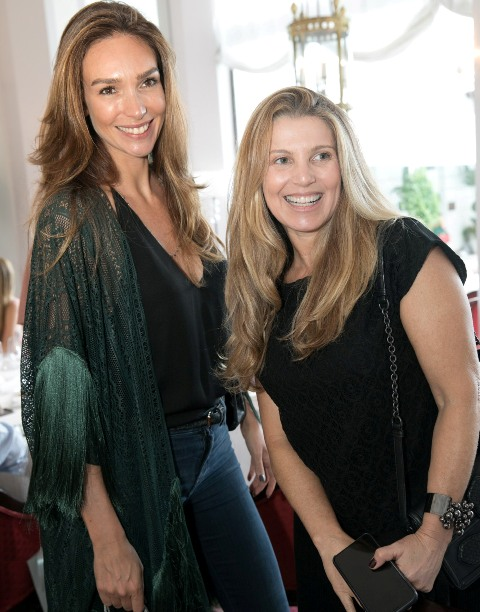 Lilian Pieroni e Denise Leão