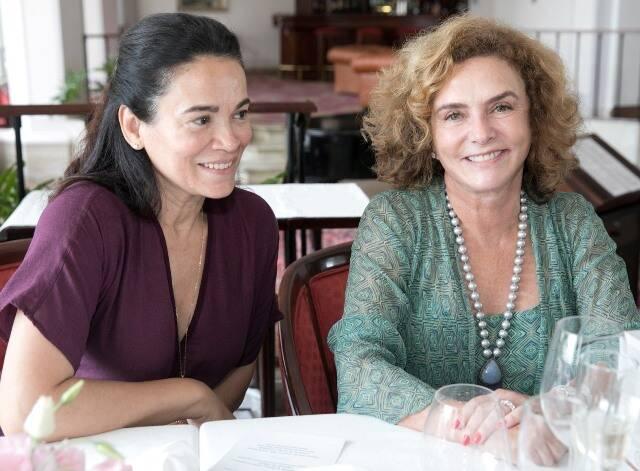 Maria José Oliveira e Cris Baluchi