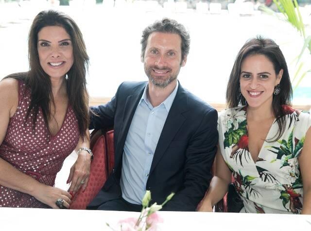 Patricia Brandão, Charles Rosnier e Paula Bezerra de Mello