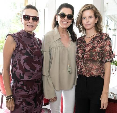 Patricia Mayer, Beth Accurso e Eva Monteiro de Carvalho