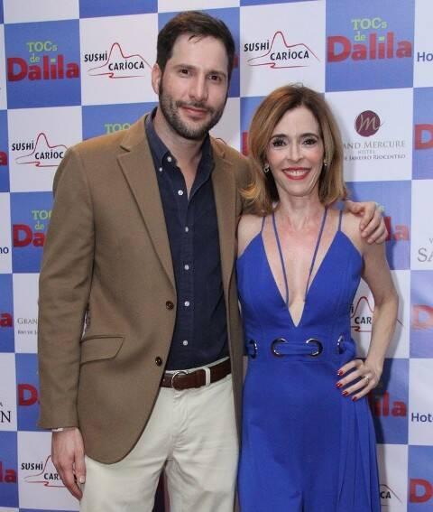 Thiago Teitelroit e Deborah Evelyn