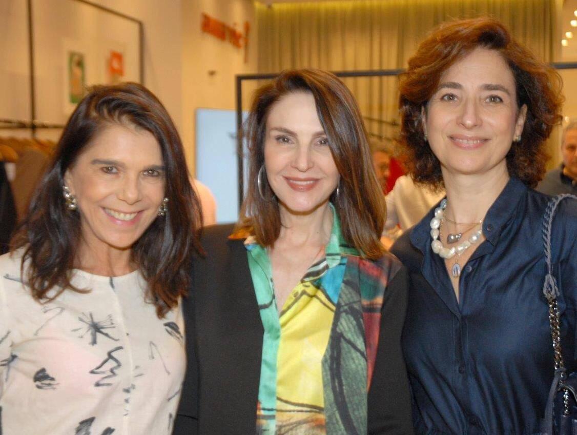 Bia Rique, Toia Lemann e Anna Paola Protásio / Foto: Marco Rodrigues
