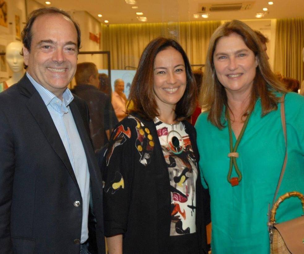Carlos Osório, Ana Luiza e Luciana Almeida Braga / Foto: Marco Rodrigues