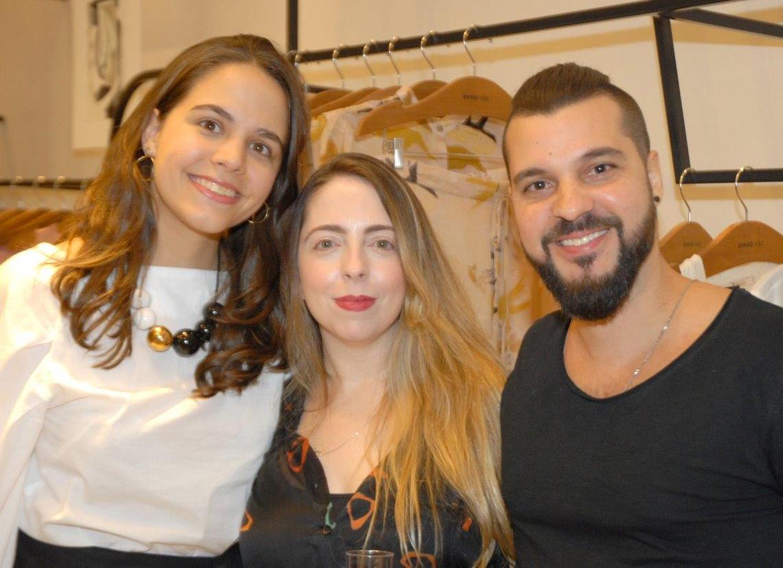 Luisa Paulino, Cris Fernandes e Tiago Lima / Foto: Marco Rodrigues