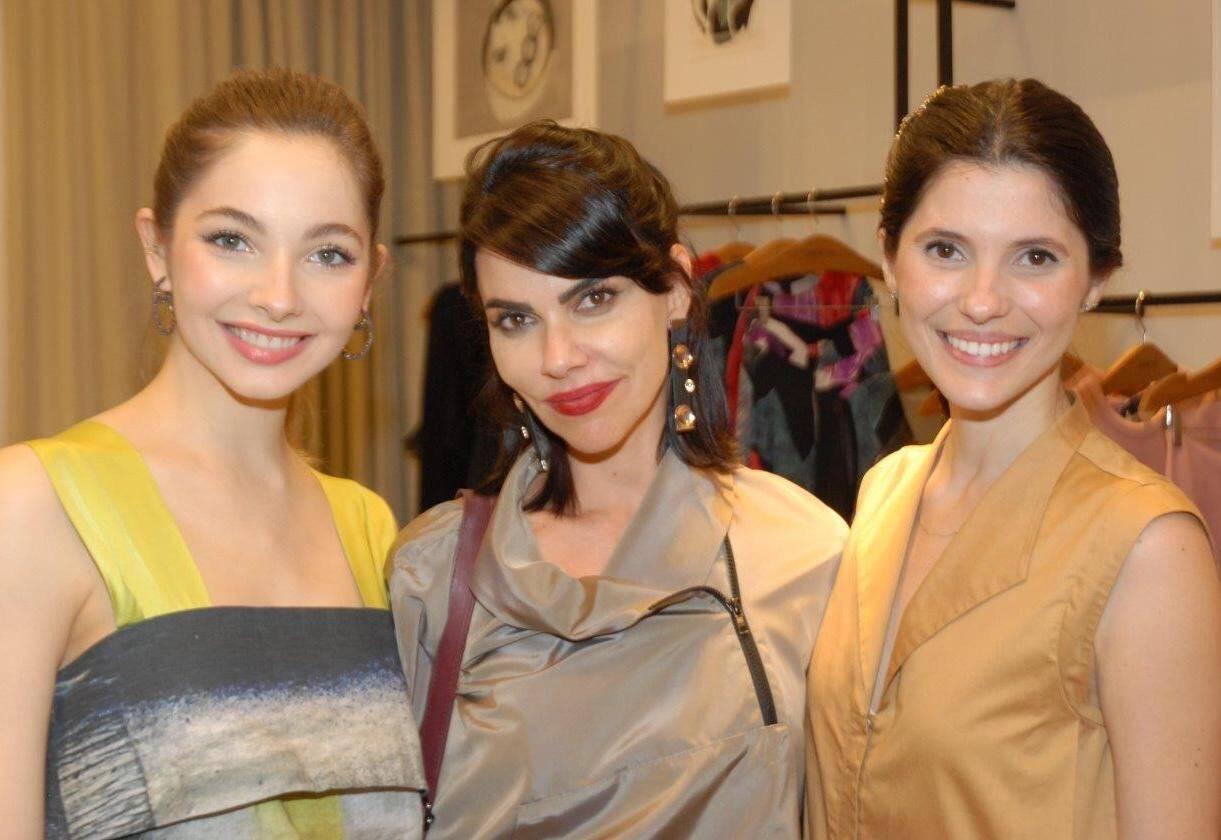 Maria Osório, Renata Müller e Karen Alves / Foto: Marco Rodrigues