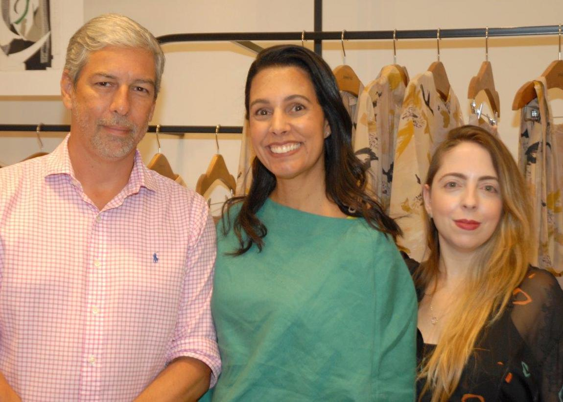 Victor Murtinho, Lise Leal e Cris Fernandes / Foto: Marco Rodrigues