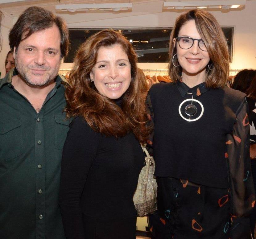 Gilberto Buffara, Kiki Almeida e Toia Lemann
