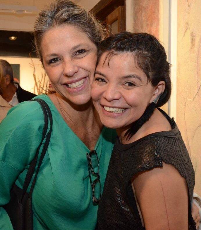 Débora Kolgerg Catão e Antonia Oliveira
