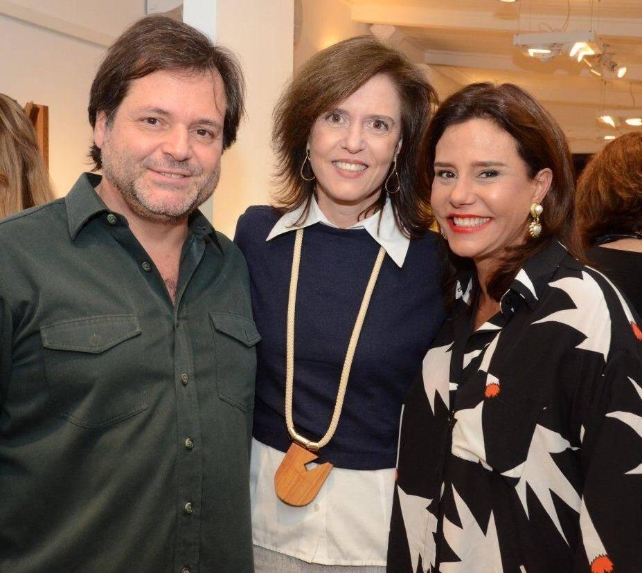 Gilberto Buffara, Cristina Paulino e Narcisa Tamborindeguy