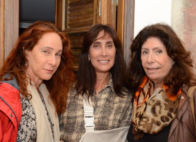Liana e Deborah Levinson com Anna Maria Tornaghi