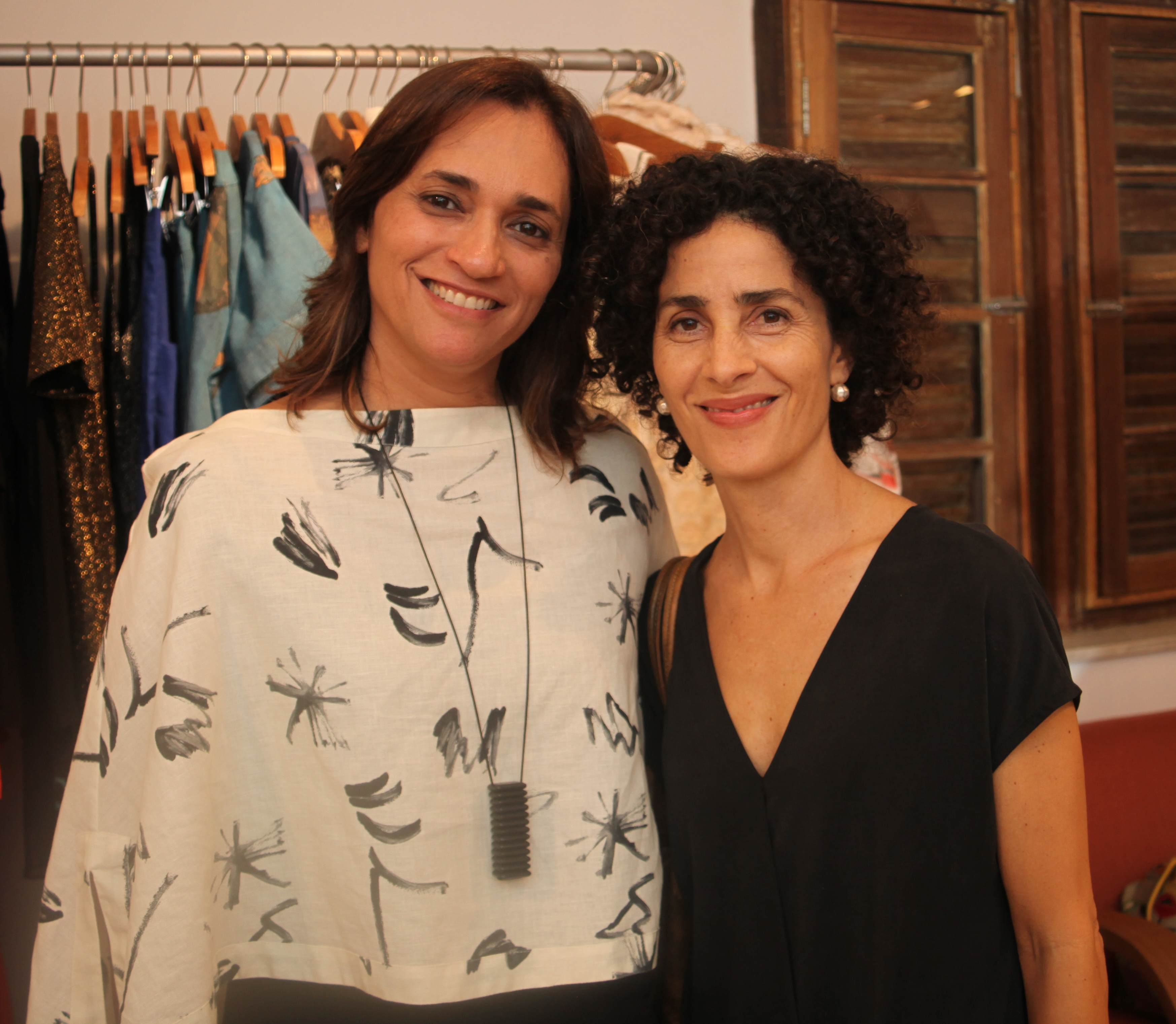 Gaby Indio e Bell Barcelos /Foto:  Karina Werner